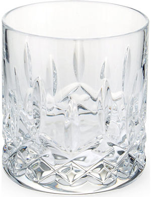 WATERFORD Lismore set of two crystal tumblers