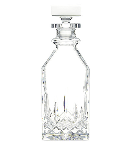WATERFORD Lismore Connoisseur square decanter