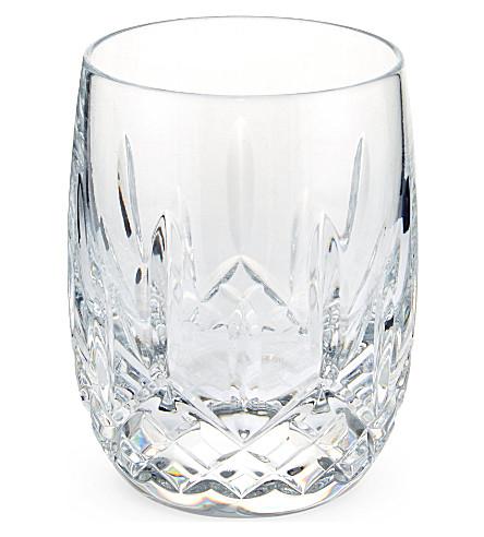 WATERFORD 利斯莫尔两个圆形玻璃杯的设置