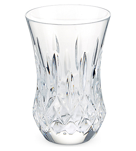 WATERFORD Lismore Classic set of two flared sipping tumbler