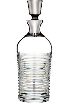 WATERFORD Mxology circon decanter with plat band