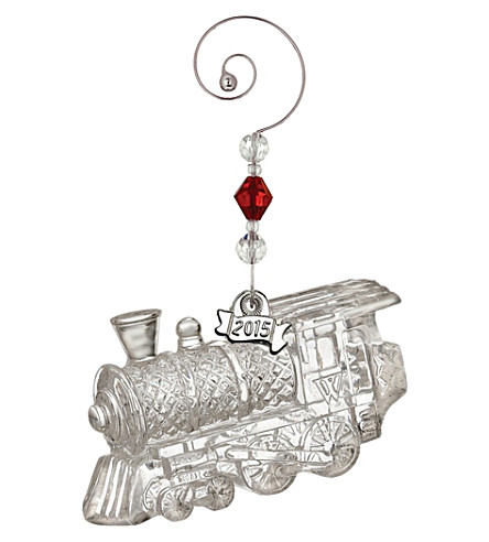 WATERFORD Train engine ornament 4.5cm
