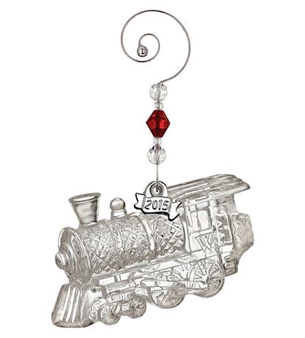 WATERFORD Train engine ornament 4.5cm