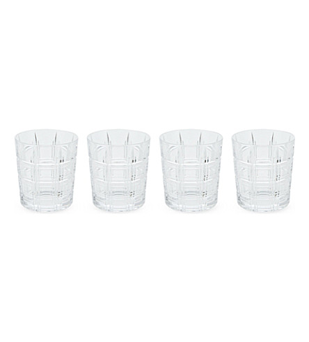 WATERFORD Marquis crosby glass set 4 piece