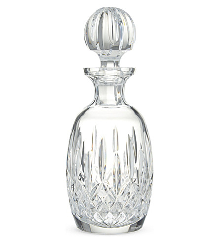 WATERFORD Lismore rounded decanter