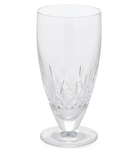 WATERFORD Lismore encore iced beverage crystal glass set