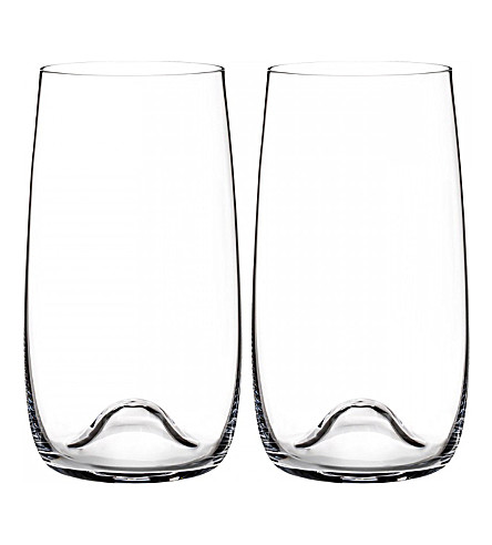 WATERFORD Elegance set of two long glasses