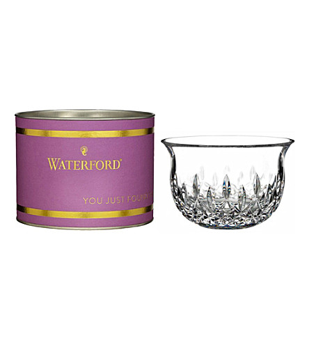 WATERFORD Lismore sugar bowl