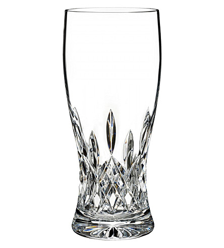 WATERFORD Lismore crystal pint glass