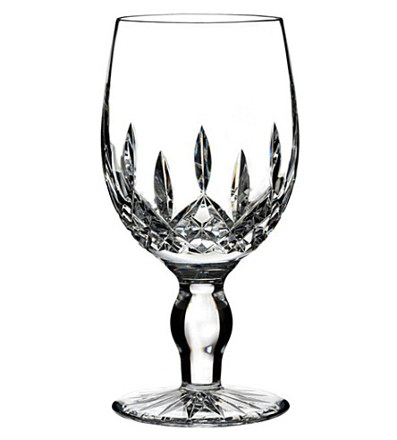 WATERFORD Lismore Connoisseur crystal craft beer glass