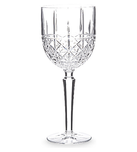 WATERFORD Marquis Brady crystalline goblets set of 4