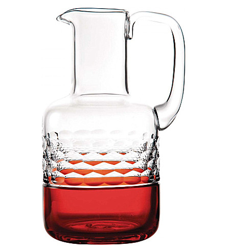 WATERFORD Half & half ginger jug