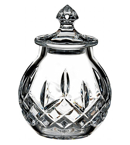 WATERFORD Lismore small covered jar