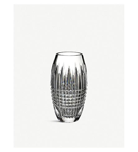 WATERFORD Lismore Diamond crystal vase 3.6kg