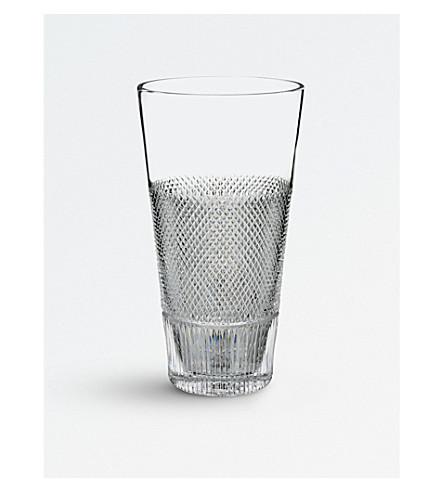 WATERFORD Diamond Line crystal vase 30cm