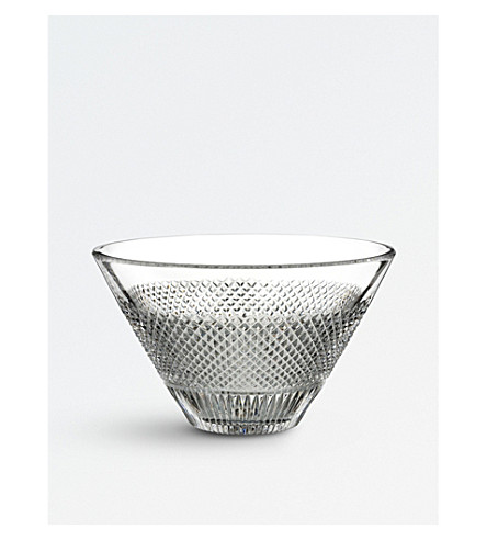 WATERFORD Diamond Line crystal bowl 3.5kg