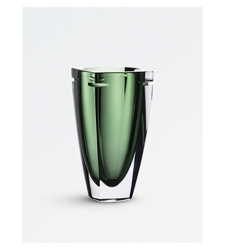 WATERFORD W Collection Fern crystal vase 18cm