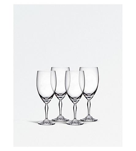 WATERFORD 四杯水晶冰饮料眼镜套装