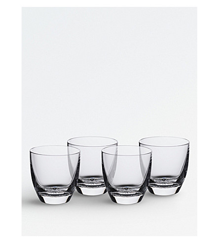 WATERFORD Ventura set-of-four crystal tumblers