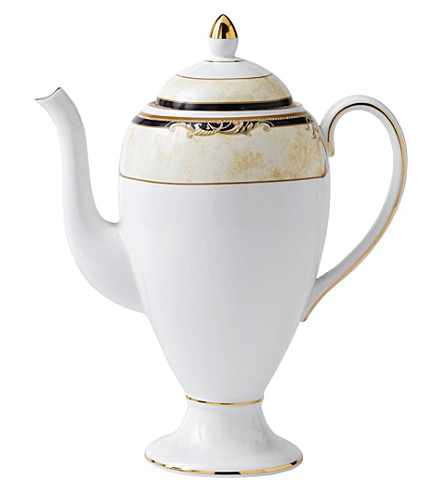 WEDGWOOD Cornucopia china coffee pot