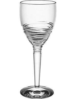 JASPER CONRAN @ WATERFORD Strata set of two crystal wine glasses