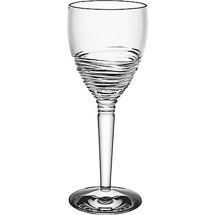 JASPER CONRAN @ WATERFORD Strata set of two crystal wine glasses