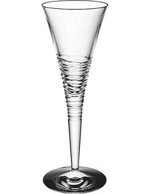 JASPER CONRAN @ WATERFORD Strata set of two crystal champagne flutes