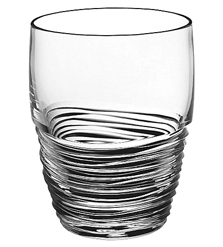 JASPER CONRAN @ WATERFORD Strata set of two crystal tumblers