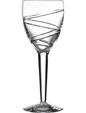 JASPER CONRAN @ WATERFORD Aura set of two crystal wine glasses