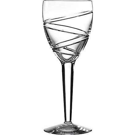 JASPER CONRAN @ WATERFORD Aura set of two crystal wine glasses