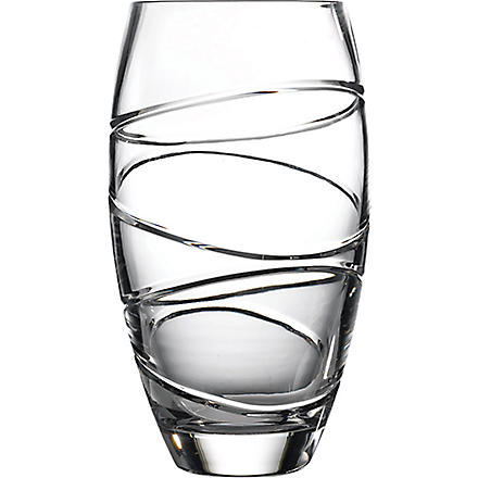 JASPER CONRAN @ WATERFORD Aura crystal vase 25cm