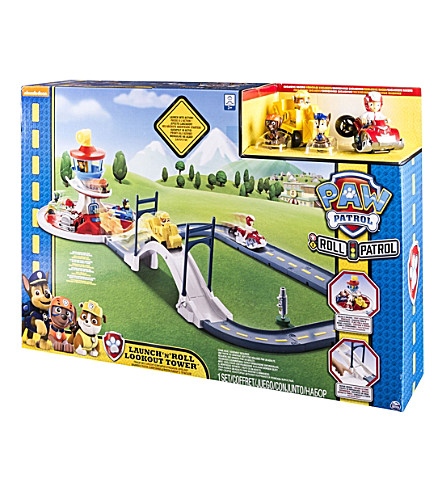 PAW PATROL Lookout Tower Track Set