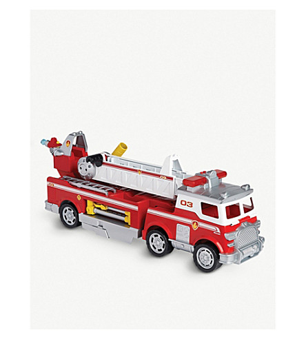 paw patrol marshall s ultimate fire truck toy selfridges com