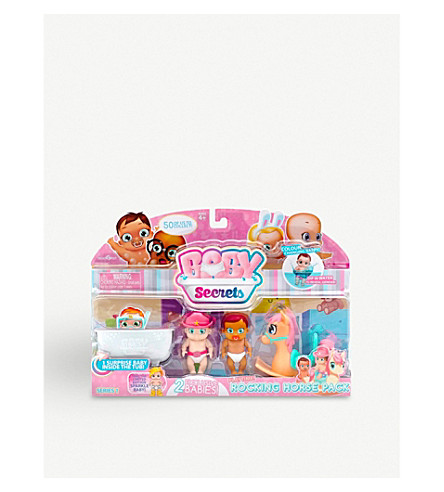 POCKET MONEY Baby Secrets Rocking Horse set
