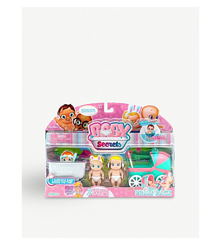 POCKET MONEY Baby Secrets Park Time Pram set