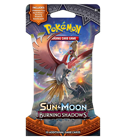 POCKET MONEY Pokemon TCG Sun & Moon Burning Shadows trading card booster pack