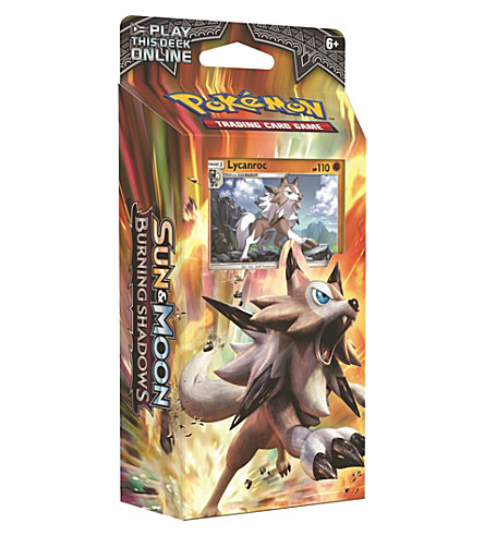 POCKET MONEY Pokemon TCG Sun & Moon Burning Shadows theme card deck