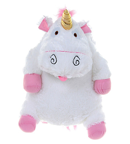 DESPICABLE ME Fluffy unicorn backpack