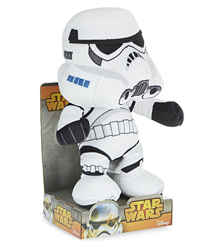 STAR WARS Stormtrooper soft toy 25cm