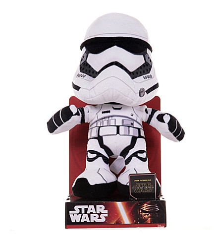 STAR WARS Stormtrooper soft toy 31cm