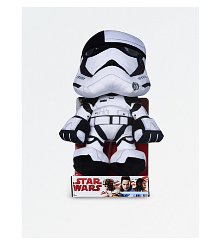 STAR WARS EP8 tango black plush character