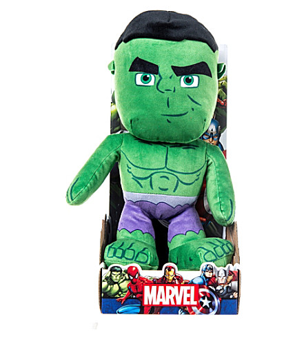 MARVEL AVENGERS Hulk soft toy 25cm