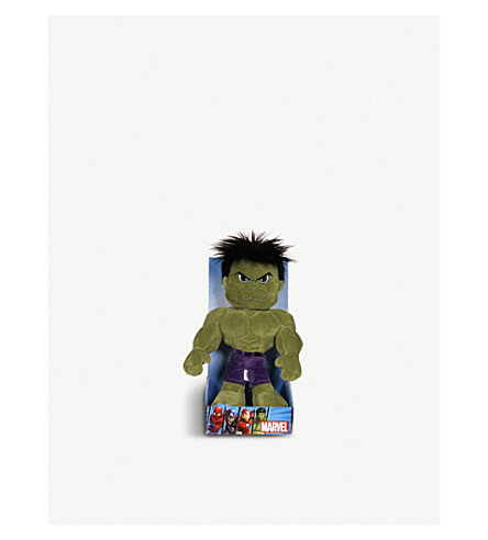 MARVEL AVENGERS 绿巨人柔和玩具25厘米