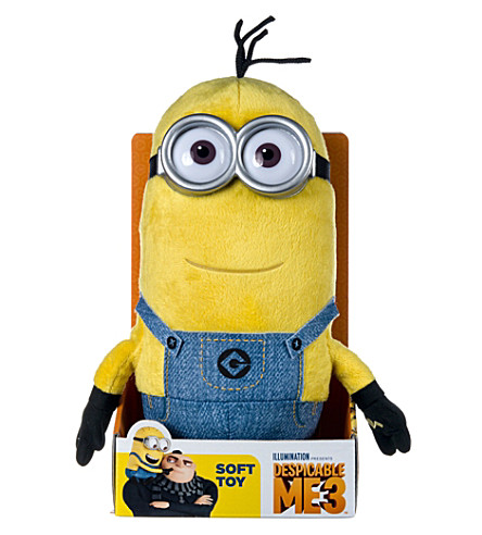 DESPICABLE ME Tim soft toy with sound