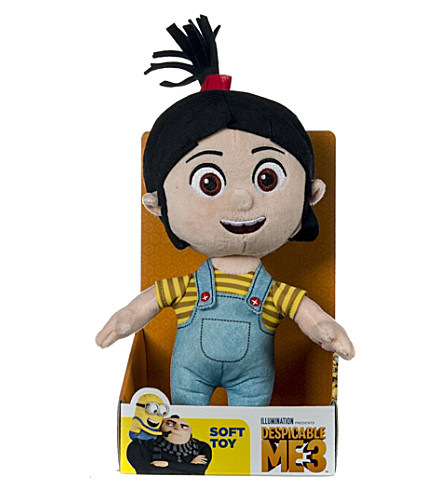 DESPICABLE ME Agnes soft toy with sound