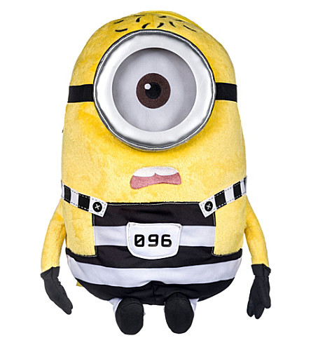 DESPICABLE ME Stuart jail soft backpack
