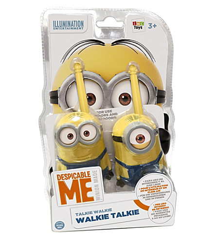 DESPICABLE ME Dave and Staurt walkie talkies