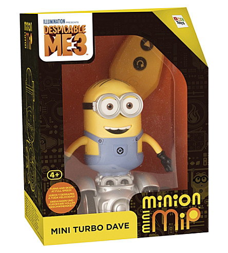 DESPICABLE ME Turbo Mini Dave MiP toy
