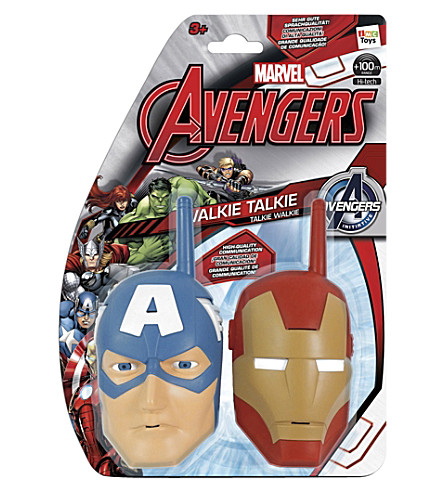 marvel avengers walkie talkie. Black Bedroom Furniture Sets. Home Design Ideas