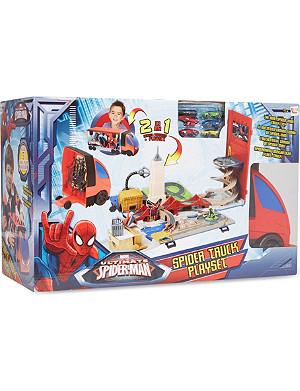 SPIDERMAN Spider playset truck